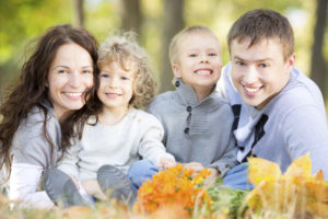 Family with beautiful smiles thanks to the general dentist Manahawkin residents prefer