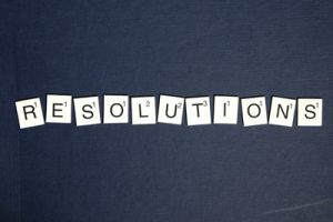 New Year's resolutions for a healthy smile.
